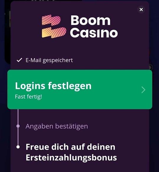 boom casino registrierung und einzahlung