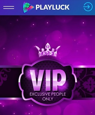 Playluck Casino VIP Programm