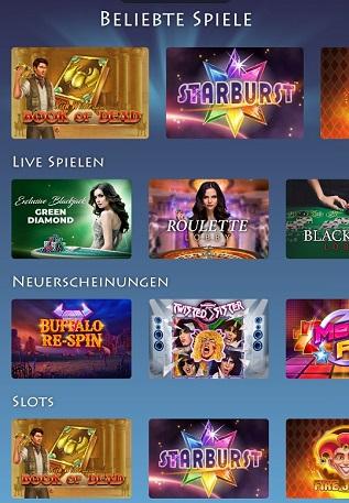 casino gods spielangebot