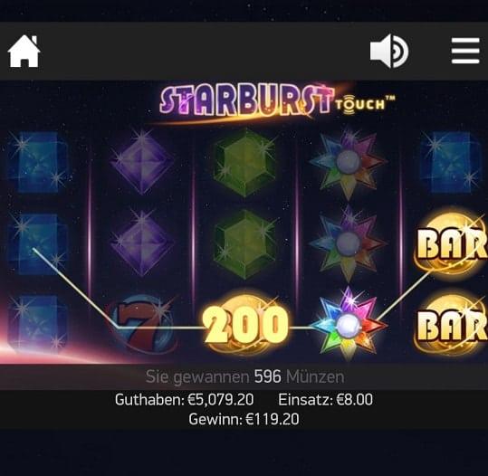 casino gods starburst
