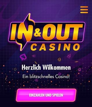 inandout casino einzahlung