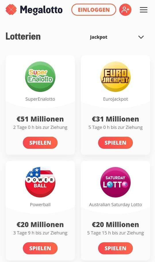 Lotterien megalotto