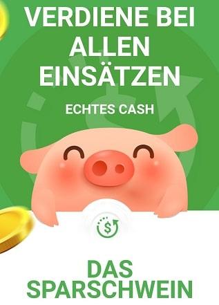 piggy bang sparschwein