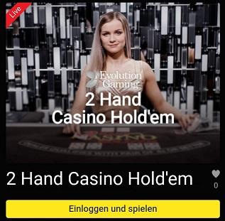 unibet live casino holdem poker