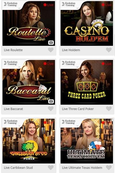 casimba live casino