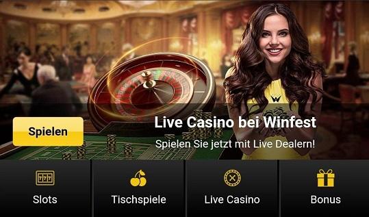 winfest casino test
