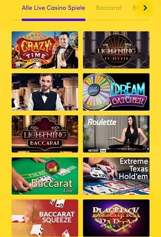 hyperino live casino