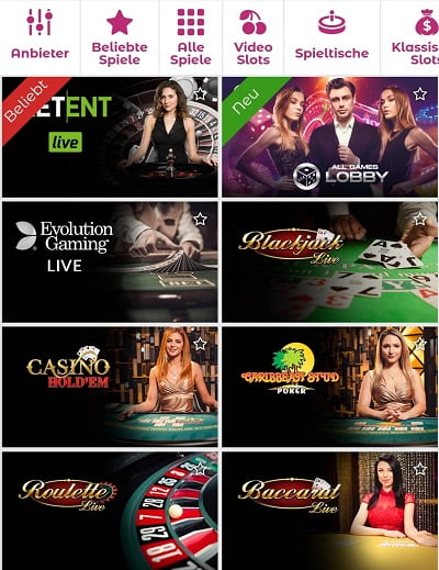 Slottojam Live Casino
