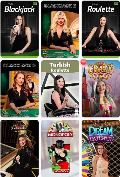 nomini live casino