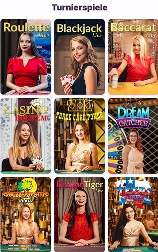 nomini turniere auf mobile app