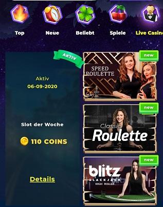 wazamba casino roulette mobile app