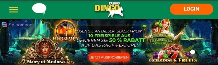 dingo casino freispiele