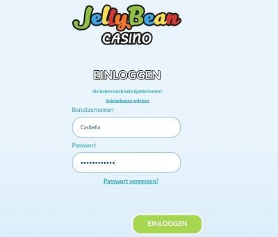 jelly bean login anmelden