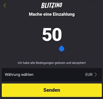blitzino casino einzahlen