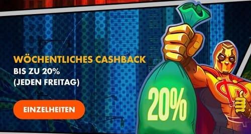 Slotman Casino Cashback