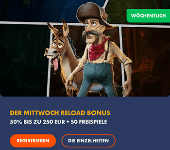 Slotman Reload Bonus
