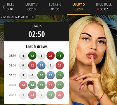 divas luck casino lucky 5