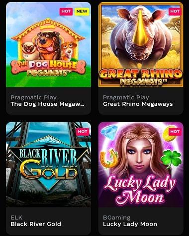 Casino Buck Spiele