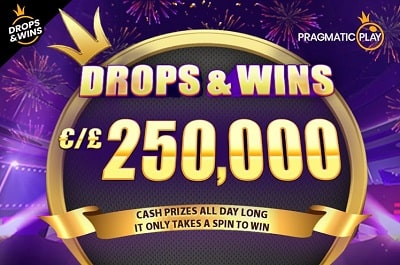 drops and wins casino buck