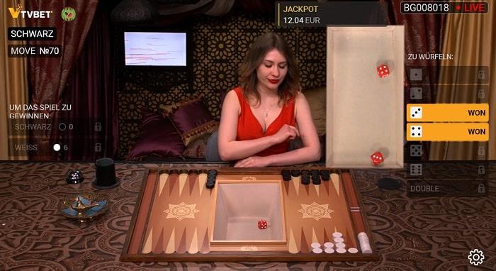 Backgammon Cobra Spins