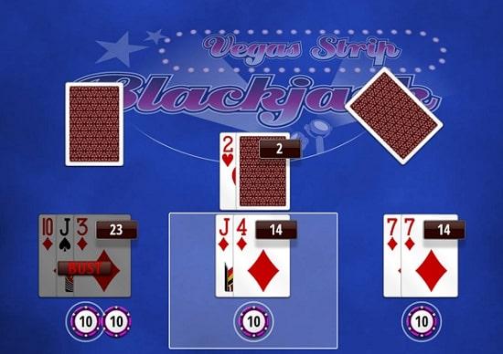 Cobra Spins Vegas Strip Blackjack