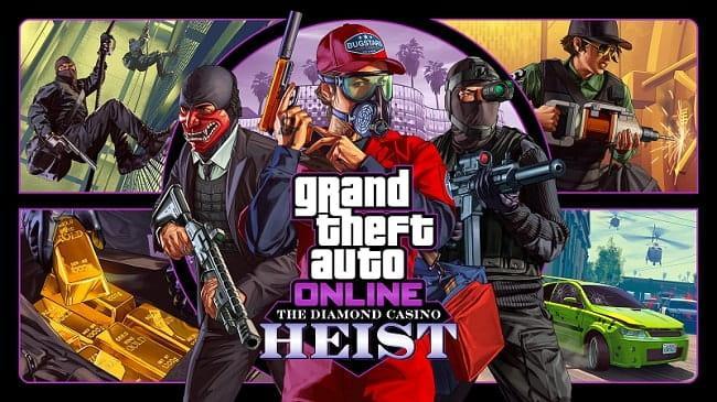 GTA 5 Online Diamond Casino Heist