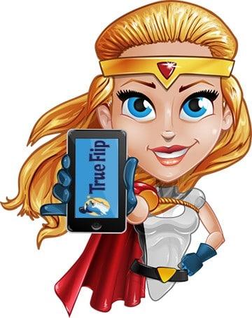 Trueflip Casino website und mobile app