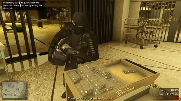 gta 5 online casino heist diamanten