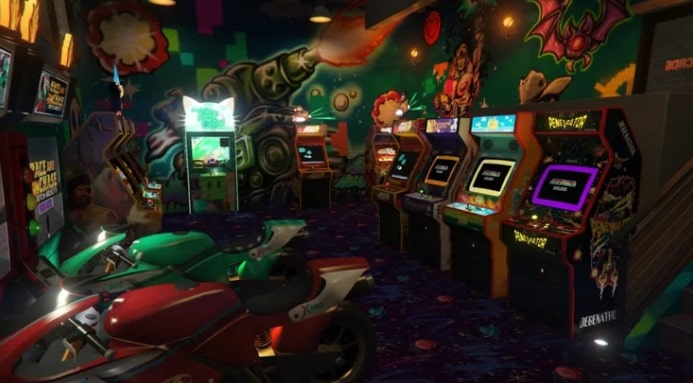 gta online wonderama arcade