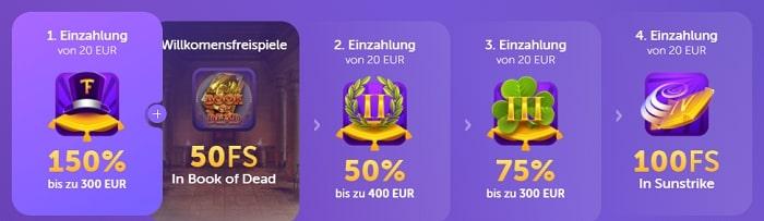 trueflip casino bonus